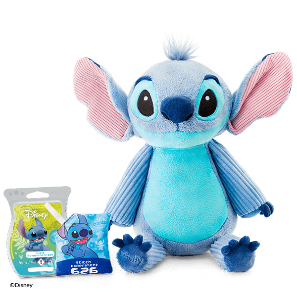 STITCH - SCENTSY BUDDY AND EXPERIMENT 626 BAR BUNDLE