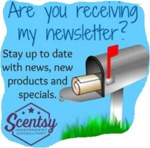 Scentsy newsletter for Specials & Deals