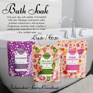 Scentsy Soak For Baths