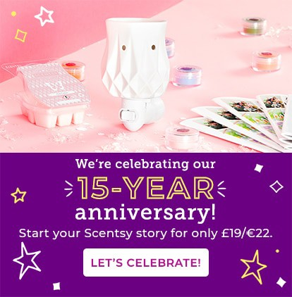 start a scentsy business for £19/€22/$15