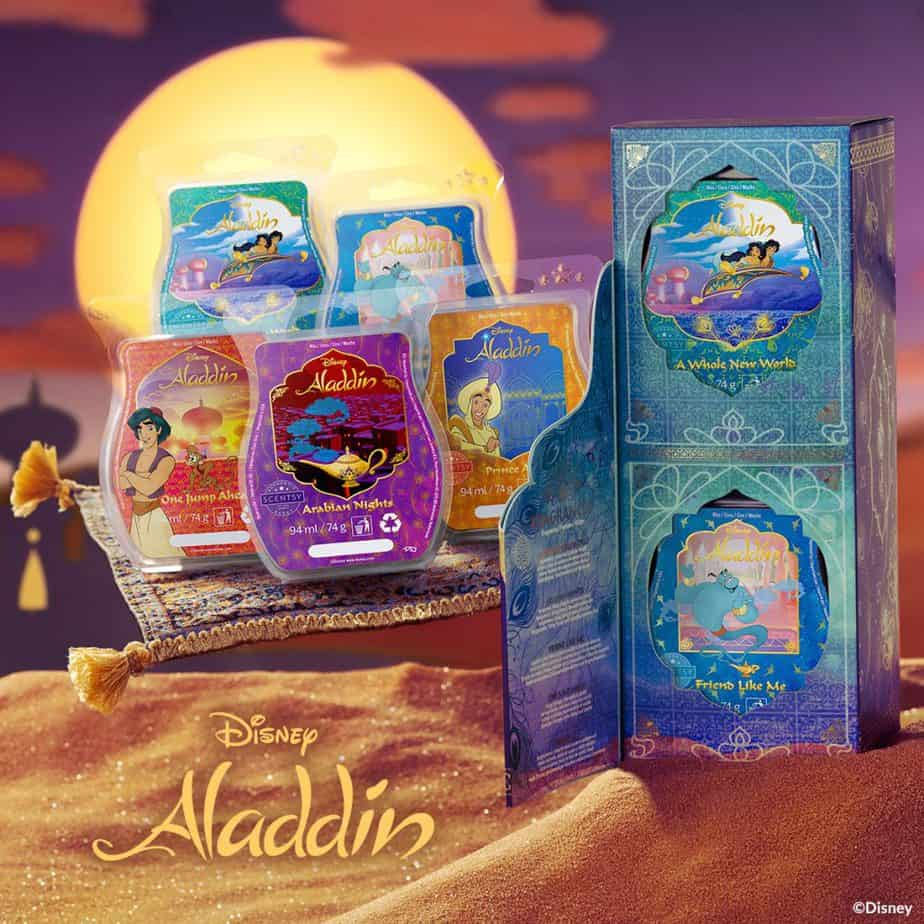 Aladdin Scentsy Wax Collection - limited edition