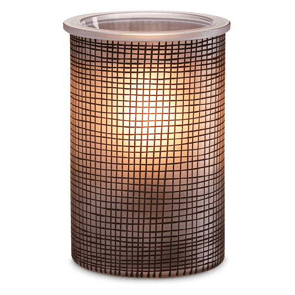 Scentsy crosshatch warmer on