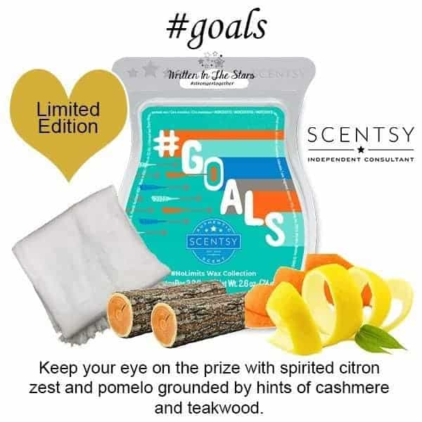 Goals Scentsy Bar