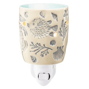 Scentsy Sea Creatures Plugin Wax Warmer On