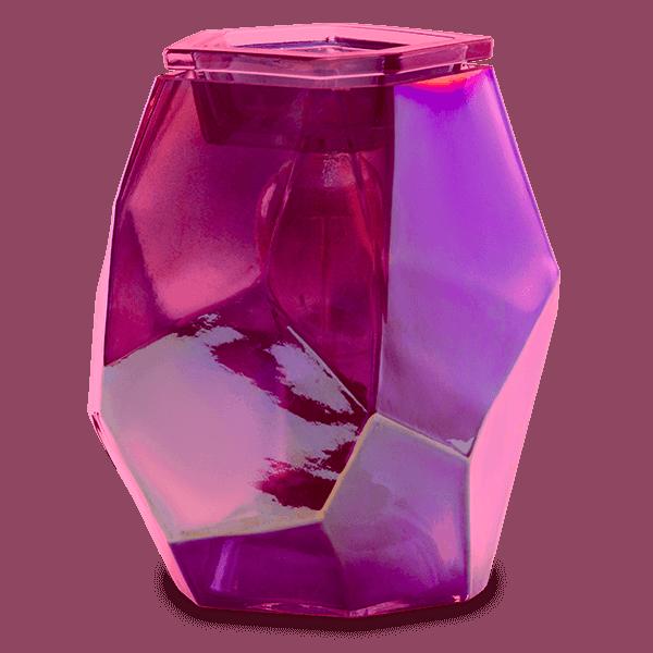 Pink Topaz Scentsy Warmer Unlit