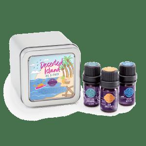 Desert Island Scentsy Essential Oils 3-Pack