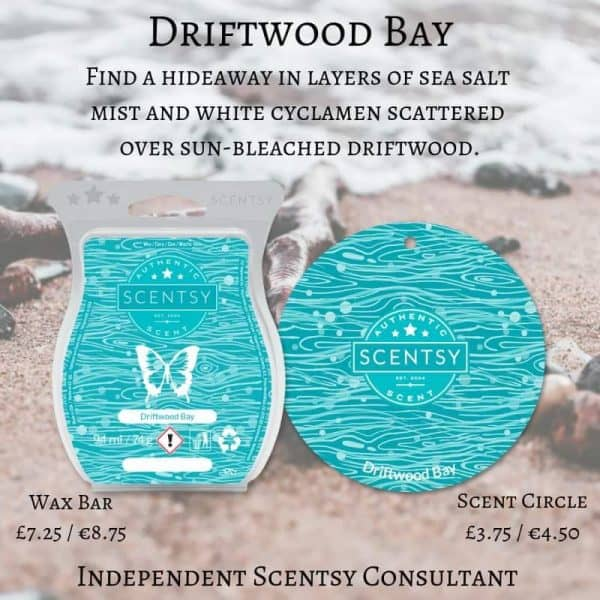 Driftwood bay - new scentsy fragrance