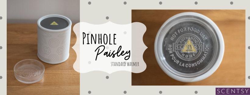 Scentsy Pinhole Paisley Warmer - perfect gift idea