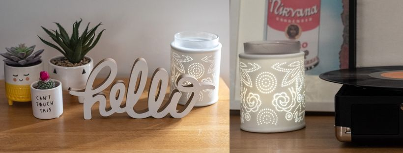 Scentsy Pinhole Paisley Warmer - On sale now
