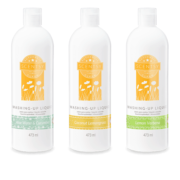 3 Scentsy Washing-up Liquids