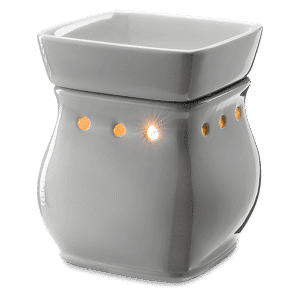 CLASSIC CURVE-GLOSS GRAY SCENTSY WAX WARMER