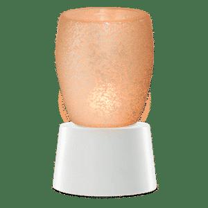 CREAM GLASS TABLETOP SCENTSY WAX WARMER