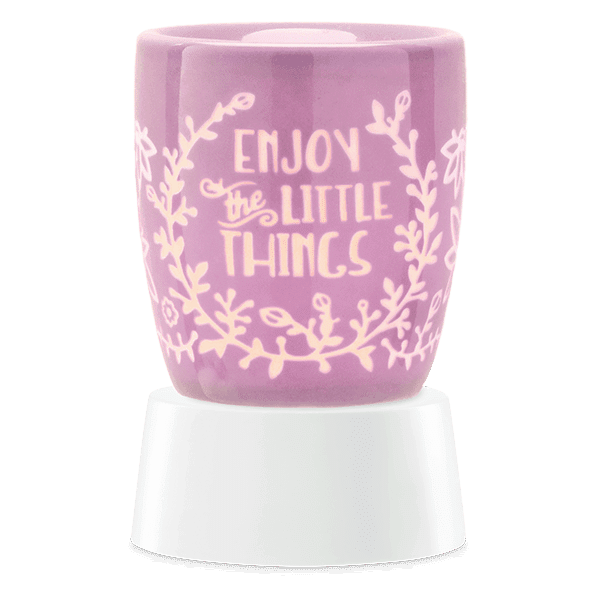 ENJOY THE LITTLE THINGS TABLETOP SCENTSY WAX WARMER