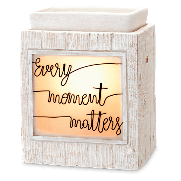 EVERY MOMENT MATTERS SCENTSY WAX WARMER