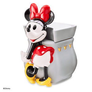 MINNIE MOUSE CLASSIC CURVE SCENTSY WAX WARMER