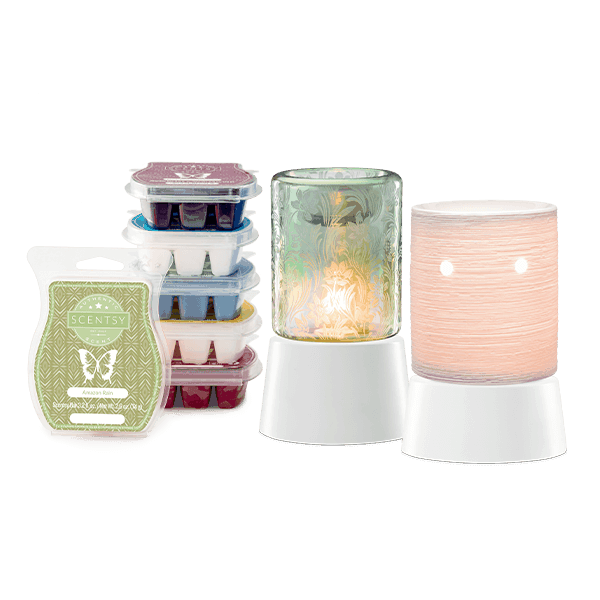 Perfect Scentsy - Two Tabletop Warmers