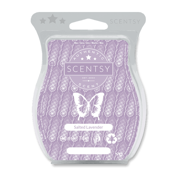 SALTED LAVENDER SCENTSY WAX BAR