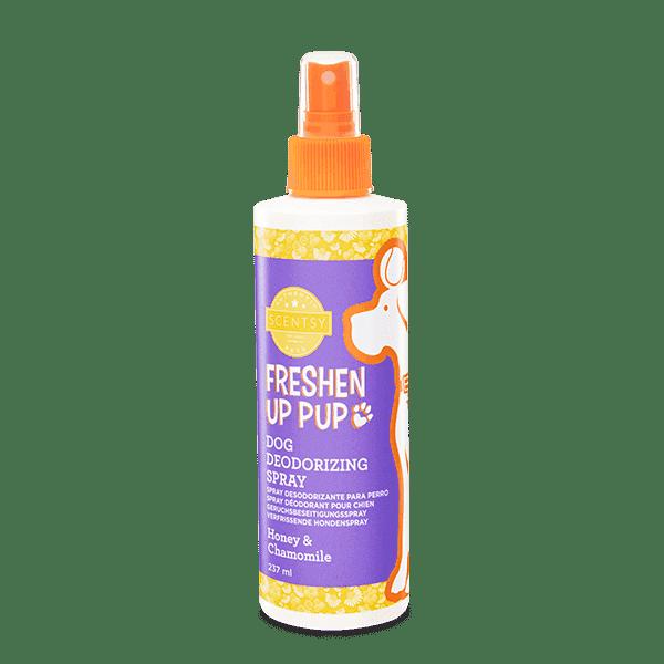 SCENTSY DOG DEODERISING SPRAY - Honey & Chamomile Freshen Up Pup Dog Deodorizing Spray