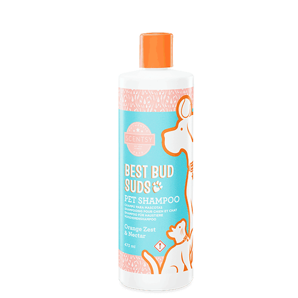 SCENTSY PET SHAMPOO- Orange Zest & Nectar Best Bud Suds Pet Shampoo