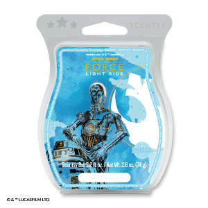 Star Wars™- Light Side of the Force – Scentsy Bar - C3P0 & R2D2