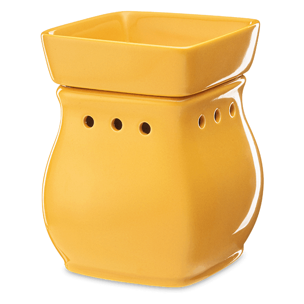 Classic Curve Scentsy Warmer Yellow Off
