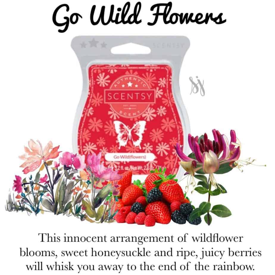 Go Wild Flowers Scentsy Bar
