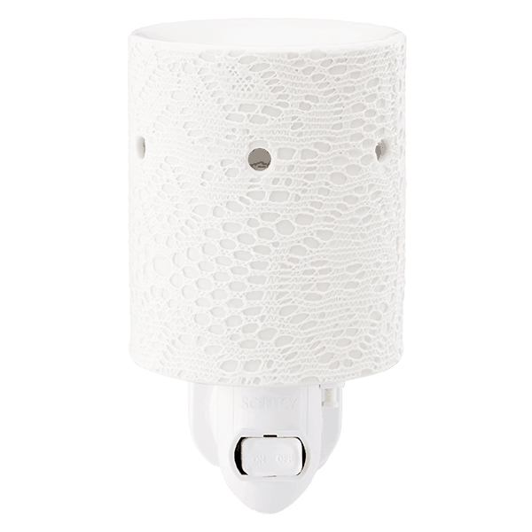 Lace mini plugin Scentsy Warmer Off
