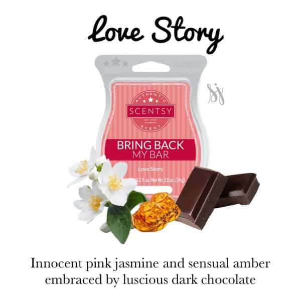 Love Story Scentsy Bar