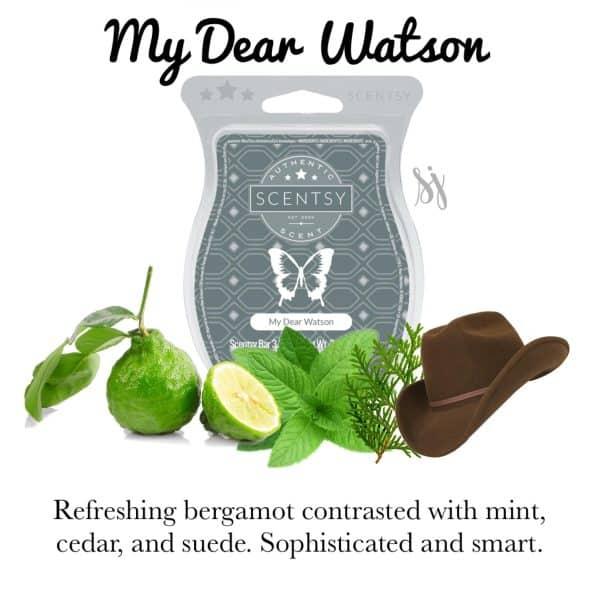 My Dear Watson Scentsy Bar