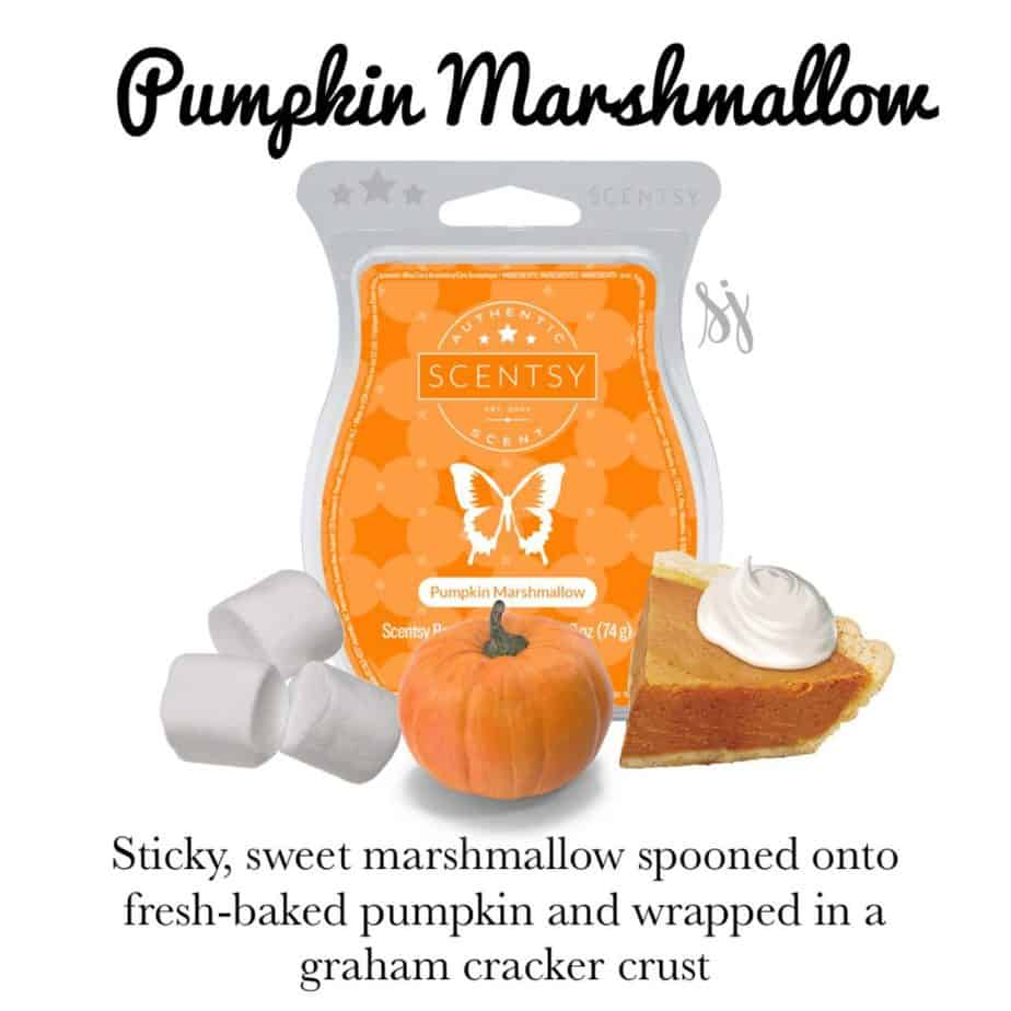 Pumpkin Marshmellow Scentsy Bar