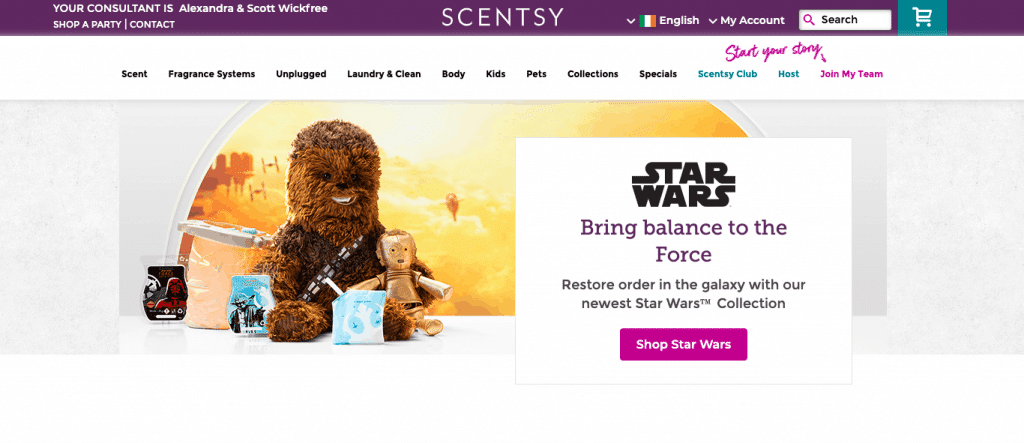 Shop for Scentsy Uk, Ireland & Europe Here on our scentsy affiliate site