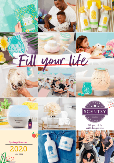 Buy Products from the NEW 2020 UK & IRELAND SCENTSY CATALOGUE SPRING SUMMER