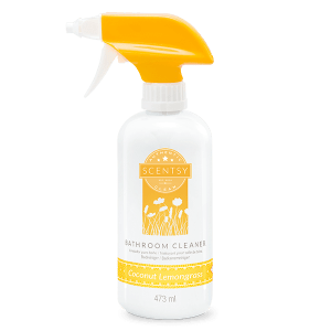Coconut Lemongrass Bathroom Cleaner