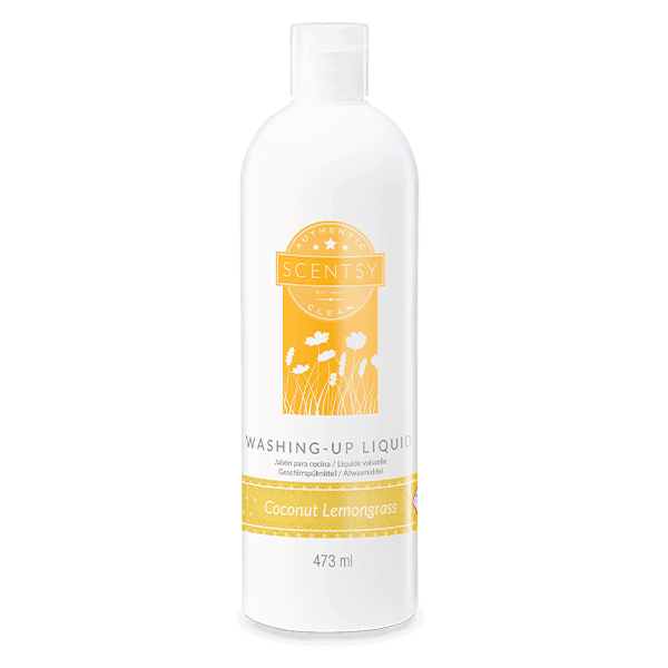 Coconut Lemongrass Scentsy Washing Up Liquid