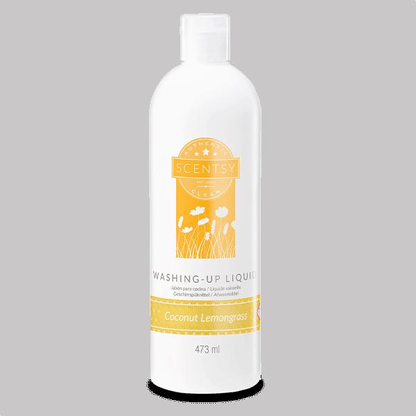 Coconut Lemongrass Scentsy Washing Up Liquid