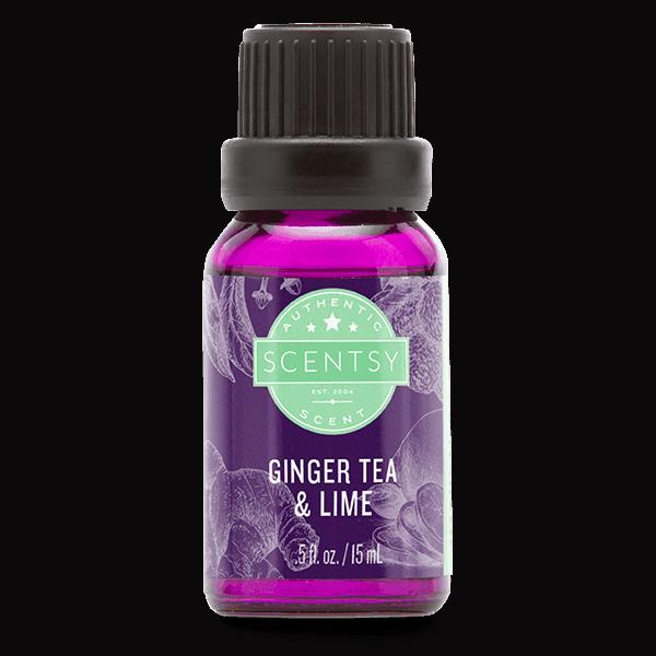 Ginger Tea & Lime Scentsy Natural Oil Blend