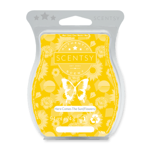 Here Come The Sun (flowers) Scentsy Bar