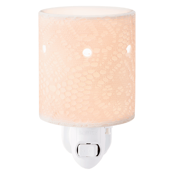Lace Mini Plugin Scentsy Warmer