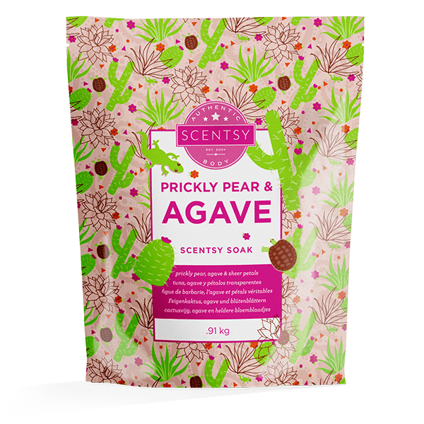 Prickly Pear & Agave Scentsy Soak
