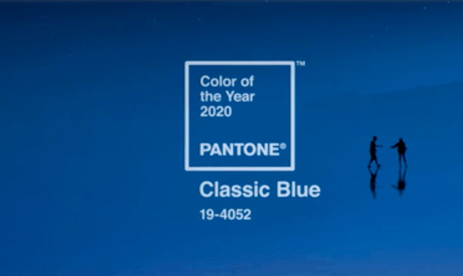 Pantone 2020 colour of the year classic blue