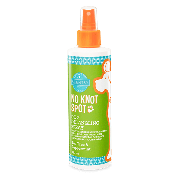 Tea Tree & Peppermint No Knot Spot Dog Detangling Spray