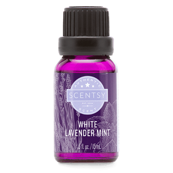 White Lavender MInt Scentsy Natural Oil Blend
