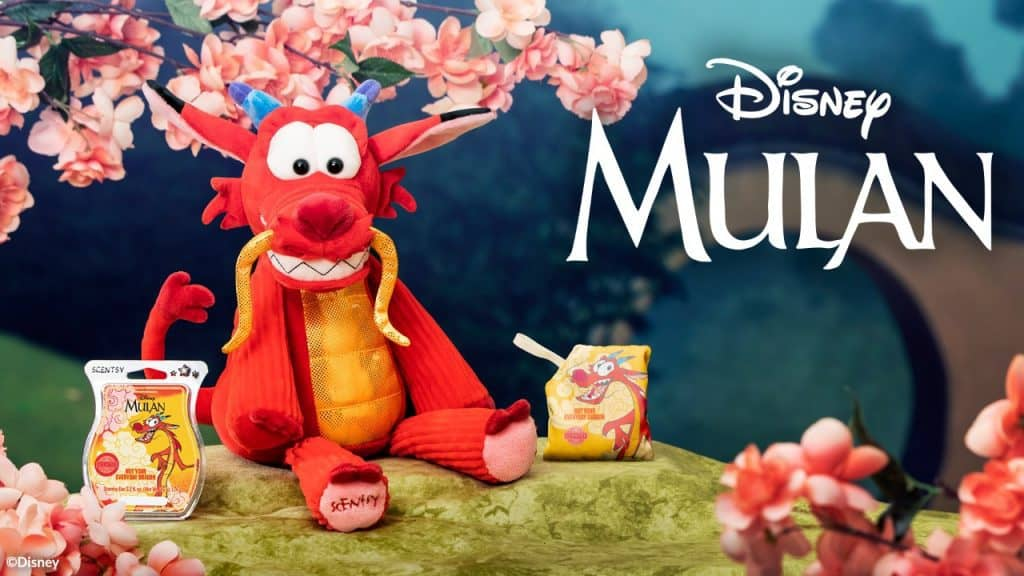 Mulan's Mushu Scentsy Buddy Released 19 March in Europe
