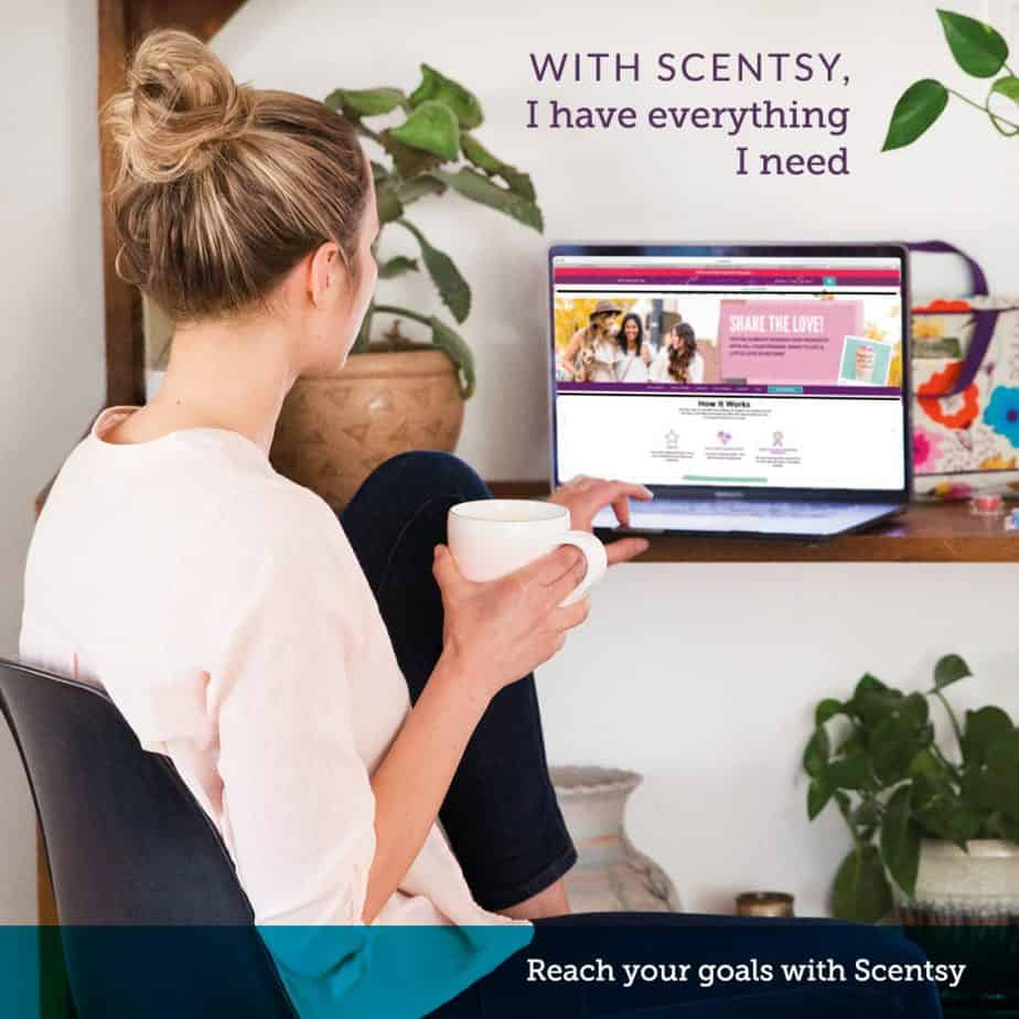 consider joining scentsy and reach your goals