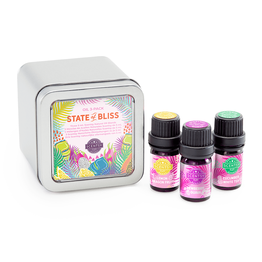 State of Bliss Scentsy Essential Oil Pack