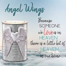 Angel Wings Scentsy Wax Warmer