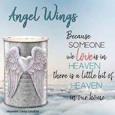 Angel Wings Scentsy Wax Warmer