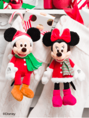 Scentsy christmas mickey and minnie buddy clips