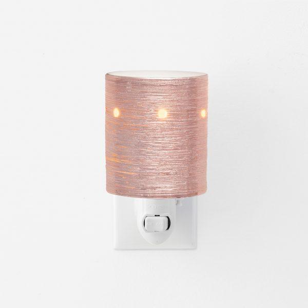 Rose gold mini plugin scentsy warmer
