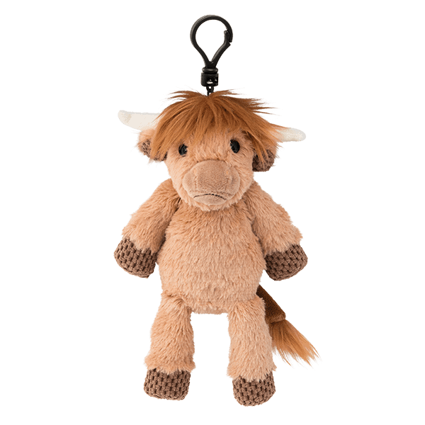 Hamish the Highland Cow Scentsy Buddy Clip